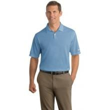 Nike Golf Dri-FIT Pebble Texture Polo Shirt 3XL - Fair Blue Nike Golf Dri-FIT Pebble Texture Sport Shirt - Fair Blue