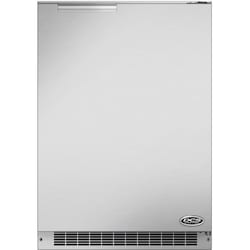 DCS 24-Inch 5.1 Cu. Ft. Right Hinge Compact Outdoor Refrigerator - Stainless Steel…