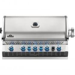Napoleon Prestige PRO 665 Built-in Propane Gas Grill with Infrared Rear Burner - BIPRO665RBPSS-3 (2019) image