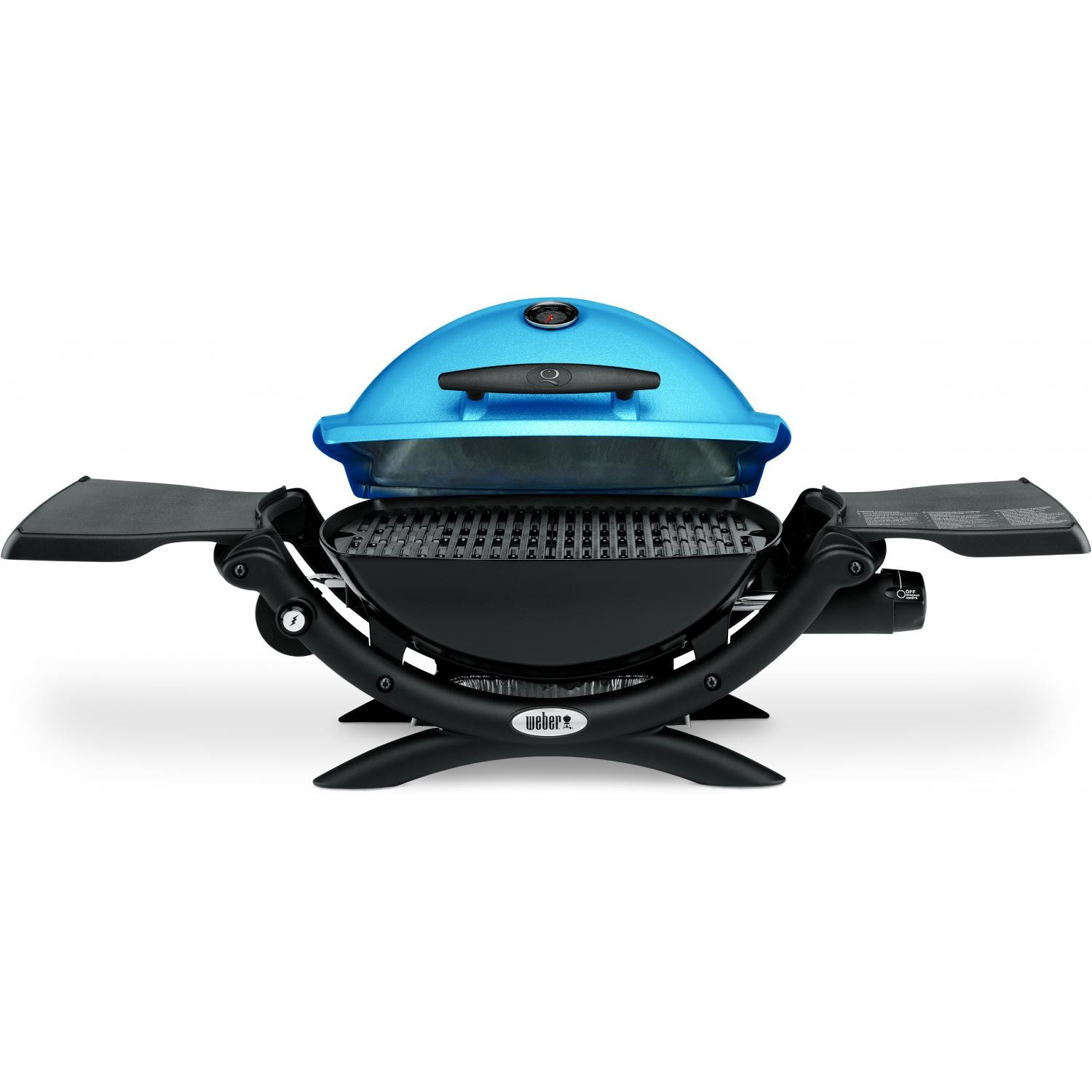 weber q 1200 portable propane gas grill blue bbq guys. Black Bedroom Furniture Sets. Home Design Ideas