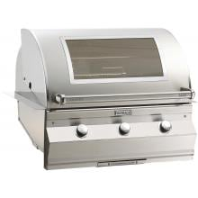 Fire Magic Aurora A660i 30-Inch Built-In Propane Gas Grill With One Infrared Burner, Analog Thermometer And Magic View Window - A660i-5LAP-W Fire Magic Aurora A660i 30 Inch Built-In Grill With Window