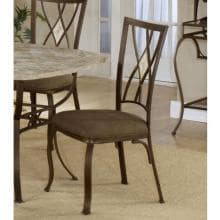 Hillsdale Brookside Diamond Fossil Back Dining Chairs - Set Of 2 - Brown - 4815-805