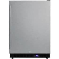 Summit 24-Inch 4.72 Cu Ft. Commercial Rated Freezer With Full Length Professional Handle - Stainless Steel - SCFF53BSS image