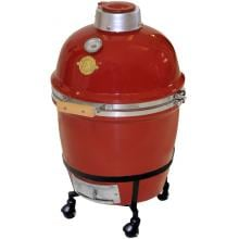 Grill Dome Infinity Series Small Kamado Grill On Dome Mobile - Red