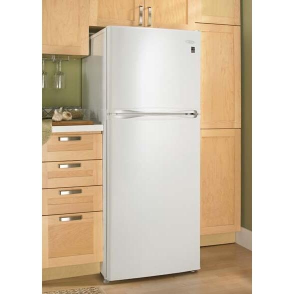 Danby 10.0 Cu. Ft. Apartment Size Refrigerator / Freezer - White ...
