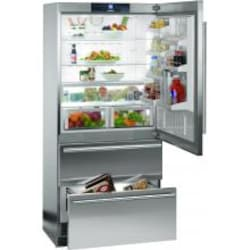 Liebherr 19.4 Cu. Ft. Bottom Freezer Refrigerator With Right Hinge - Stainless Steel - CS-2060 image