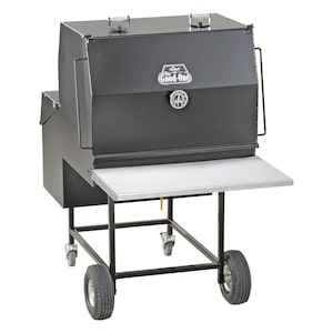 The Good-One Marshall Gen III 38-Inch Freestanding Charcoal Smoker - 09300AOH image