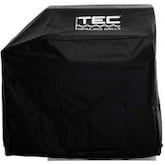TEC Vinyl Grill Cover For Sterling II FR Freestanding Gas Grills With One Side Shelf - ST2VC1