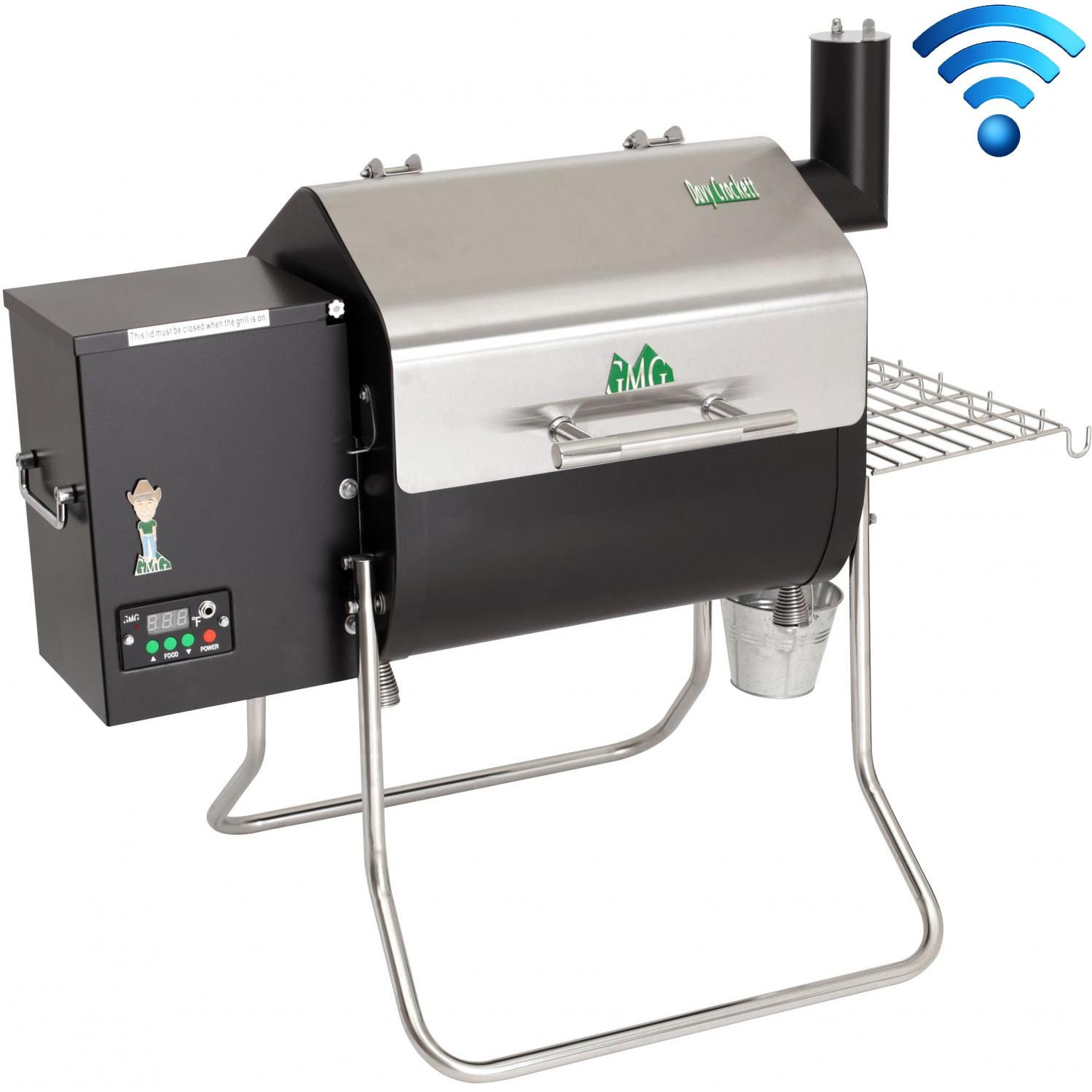 Green Mountain Grills Wi-Fi Enabled Davy Crockett Portable ...