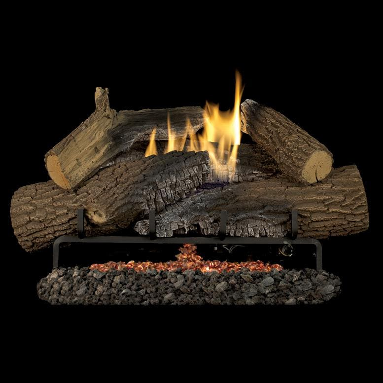 Superior Fireplaces 24 Inch Rugged Stack Gas Log Set With Vent Free