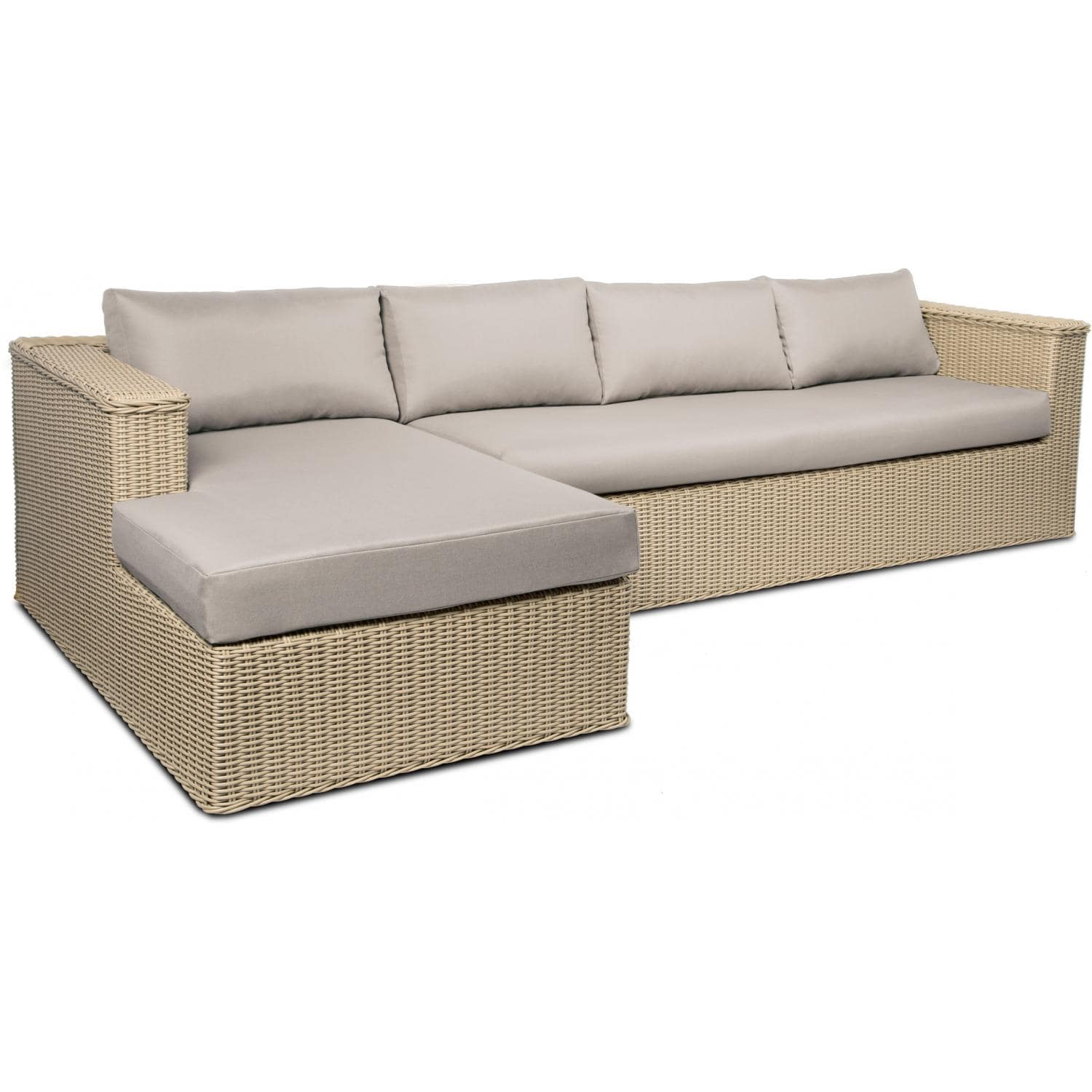 real flame mezzo outdoor sectional sofa main