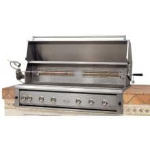 Luxor 54-Inch Built-In Propane Gas Grill With Rotisserie - AHT-54RCV-BI-LP