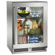 Perlick Signature Series 24-Inch 5.2 Cu. Ft. Right Hinge Outdoor Rated Compact Refrigerator - HP24RO-3-3R image