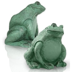 OSD Audio 5 1/4 Inch Decorative Frog Outdoor Speakers