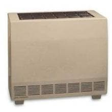 Empire 65,000 BTU Closed Front Vented Natural Gas Heater With Blower RH65CBLP image