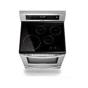 Samsung 5 9 cu ft electric induction range w warming Samsung induction range