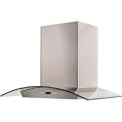 Cavaliere 30-Inch 900 CFM Island Mounted Range Hood With Glass Canopy - SV218D-i30 image