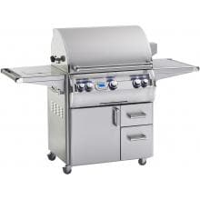 Fire Magic Echelon Diamond E660s 30-Inch Freestanding Propane Gas Grill With Single Side Burner And One Infrared Burner - E660s-4L1P-62 image