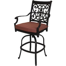 Patio Bar Stools With Arms Ladder Back Metal Bar Stool