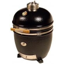 Saffire Grill Kamado Style Charcoal Grill And Smoker - Onyx Black
