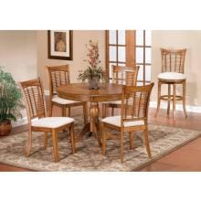 Hillsdale Bayberry 5-piece Round Dining Set - Oak - 4766dtbcrnd