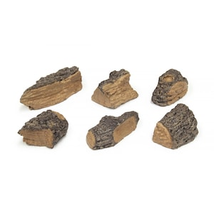 Peterson Real Fyre Decorative Wood Chips - Set Of 6 image