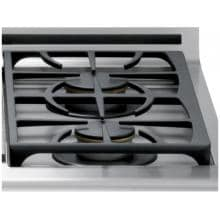 DCS Cooktops 36-Inch Natural Gas Cooktop With Griddle By Fisher Paykel - CP-364GD CP-364GD Burner / Grate Detail