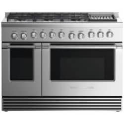 Fisher Paykel Professional (Formerly DCS) 48-Inch 6-Burner Dual-Fuel Propane Gas Range With Grill - RDV2-486GLL N image