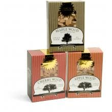 Gourmet Wood Chips Sampler With Maple Cherry & Apple