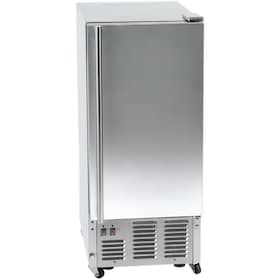 Orien 15-Inch 44 Lb. Outdoor Ice Maker With Gravity Drain - Stainless Steel - FS-50IMOD