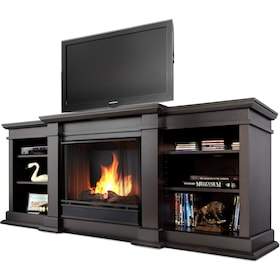 contemporary awesome with video entertainment black in tsumi fireplace interior fresh design remote controlled insert of center