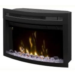Dimplex Multi-Fire XD 25-Inch Electric Firebox With Curved Glass Front - Acrylic Ice Embers - PF2325CG image