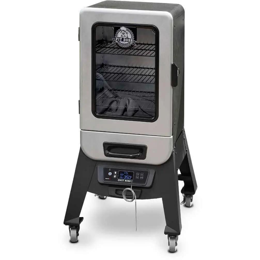 Pit Boss  77221 Silver Star 2 Series 21 inch Vertical Digital Electric Smoker with Window