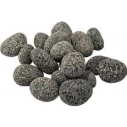 Lakeview Outdoor Designs Small Rolled Lava Rocks - 10 Lbs image
