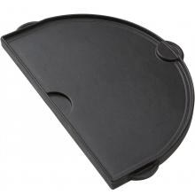 Primo Half Moon Cast Iron Griddle For Oval Large Primo Half Moon Cast Iron Griddle For Oval Large
