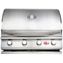 Cal Flame G4 4 Burner Built-In Propane Gas Grill
