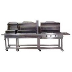Texas Barbecues 900s Hybrid Grill W/ Open Base LP image