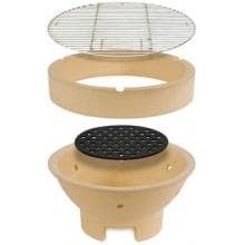 Kamado Joe Kamado Grill Cooking Grid, Fire Ring And Cooking Grate And Fire Box