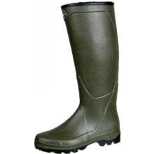 Le Chameau Boots Mens Country All Tracks XL Hunting Rubber Boot - Olive - Size 10