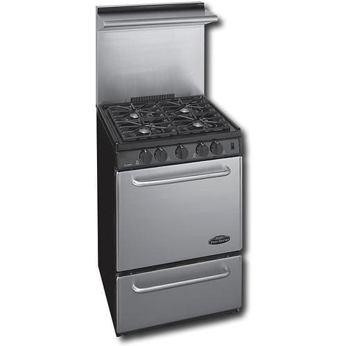 Premier Pro Series P24s330bp 24 Inch Gas Range With