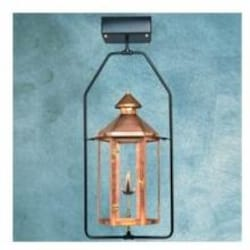 Legendary Lighting Neptune 1 Copper Natural Gas Light With Yoke Bracket And Electronic Ignition image