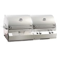 Fire Magic Aurora A830i 46-Inch Built-In Propane Gas With One Infrared Burner And Charcoal Combo Grill - A830i-5LAP-CB image