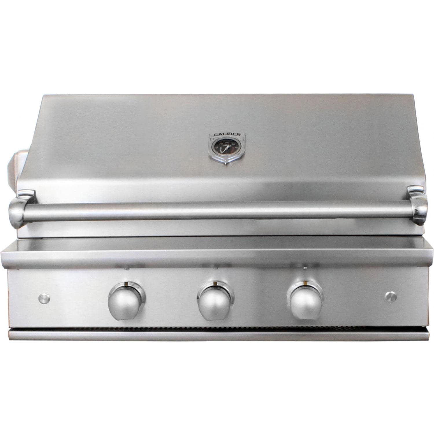 Caliber CrossFlame Silver 35-Inch Built-In Propane Gas Gr...