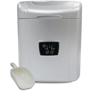 Vinotemp Tabletop Portable Ice Maker - Silver - VT-ICEMP25 image