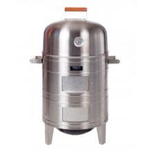 Aussie Electric Smokers By Meco - 5029 Electric Water Smoker - Stainless