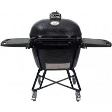 Primo All-In-One Oval XL Ceramic Kamado Grill With Cradle & Side Shelves - 7800 Primo All-In-One Oval XL Ceramic Kamado Grill With Cradle & Side Shelves