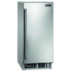 Perlick Signature Series 55 Lb. 15-Inch Right Hinge Outdoor Rated Ice Maker - H50IMS-R image
