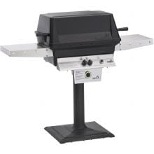 PGS T-Series T40 Commercial Cast Aluminum Freestanding Propane Gas Grill With Timer On Bolt-Down Patio Post PGS T-Series T40 Commercial Cast Aluminum Freestanding Propane Gas Grill With Timer On Bolt-Down Patio Post