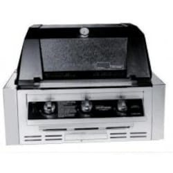 MHP Tri-Burn W3G4DD Built-In Propane Gas Grill With SearMagic Grids image