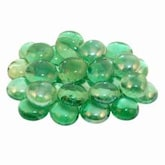 Peterson Real Fyre Emerald Glass Gems - 40 Lbs
